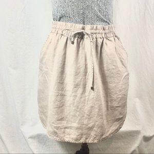 Kenar linen skirt